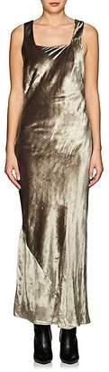 Nomia Women's Velvet Bias-Cut Gown