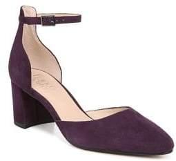 Franco Sarto Keena Velvet Ankle-Strap Pumps