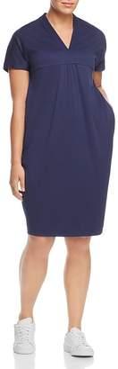 Marina Rinaldi Offella Ruched Shift Dress