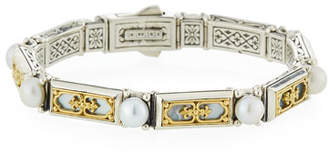 Konstantino Hestia Mother-of-Pearl Filigree Bracelet