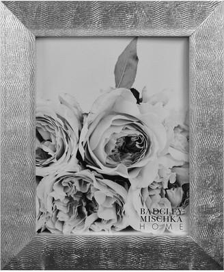 Badgley Mischka HOME Blair Silver Leaf 11X13 Gallery Frame