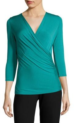 Max Mara Caprice Three-Quarter-Sleeves Top