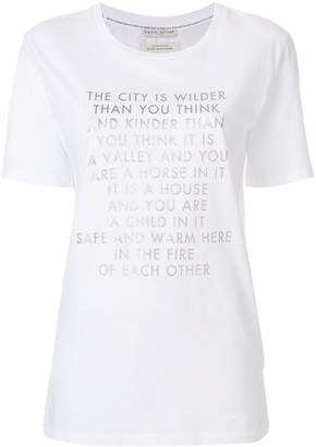 Each X Other text print T-shirt