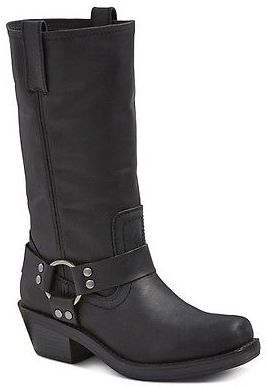Women's Katherine Leather Engineer Boots - Mossimo Supply Co. $79.99 thestylecure.com