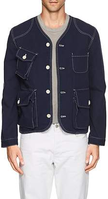 N. Max 'n Chester MAX 'N CHESTER MEN'S COTTON COLLARLESS JACKET