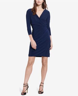 Lauren Ralph Lauren Surplice Jersey Dress $109 thestylecure.com