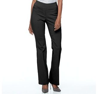 Women's Apt. 9® Pull-On Bootcut Dress Pants $48 thestylecure.com