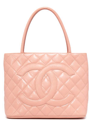 Chanel What Goes Around Comes Around Medallion Tote (Previously Owned)