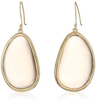 Halston H Women's Stone Drop Earrings