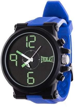 Everlast Jumbo Blue Round Sport Analog Rubber Watch