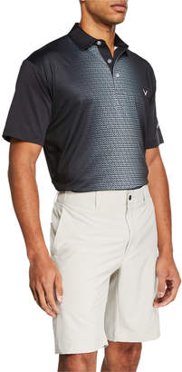 Callaway Men's Ombre Texture Polo Shirts
