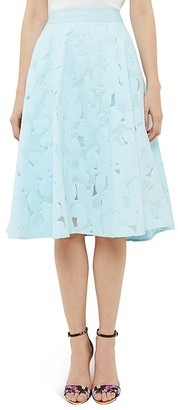 Ted Baker Floral Burnout Circle Skirt $295 thestylecure.com