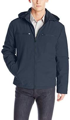 Kenneth Cole New York Men's Softshell Jacket with Packable Lining