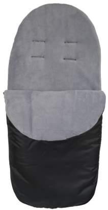 Cuddles Collection Showerproof Fleece Lined Footmuff (Grey)