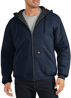 Dickies Men's Heavyweight Quilted Fleece Hoodie