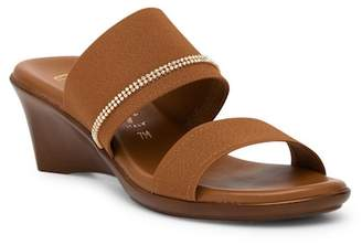 Italian Shoemakers Miami Wedge Sandal - Wide Width Available