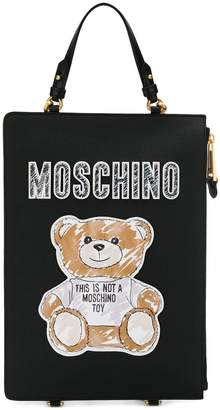 Moschino Teddy Bear clutch backpack