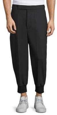 Neil Barrett Ribbed Leg-Openings Trousers