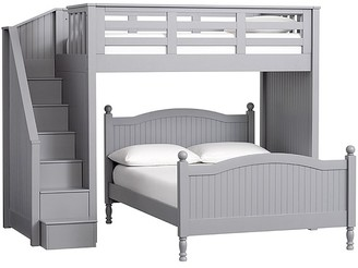 Pottery Barn Kids Catalina Stair Loft Bed