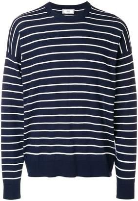 Ami Alexandre Mattiussi crewneck striped sweater