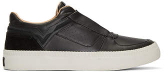 Diesel Black S-Spaark Slip-On Sneakers