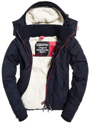 Superdry Hooded Sherpa Quilted SD-Windcheater