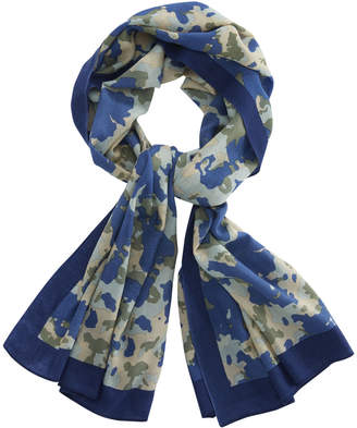 Vineyard Vines Camo Patterned Scarf