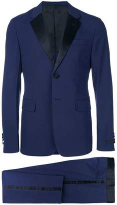 Prada satin trim suit