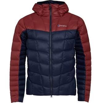 Berghaus Mens Nunat Reflect Pertext Down Insulated Jacket Dark Blue/Red