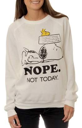 Peanuts Juniors' Burn Out Sweatshirt