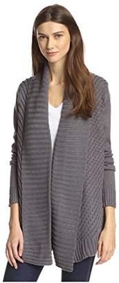 James & Erin Women's Open Cardigan Sweater