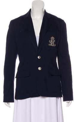 Ralph Lauren Twil Embroidered Blazer