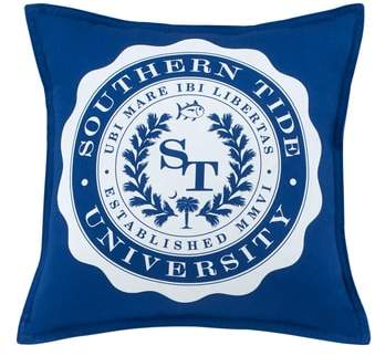 Southern Tide Skipjack Chino University Accent Pillow