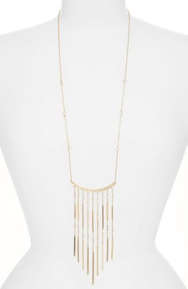 Women's Jenny Packham Fringe Pendant Necklace $115 thestylecure.com