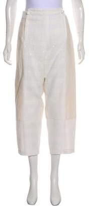Chloé High-Rise Cropped Pants