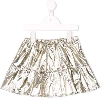 Bonpoint Paloma metallic mini skirt