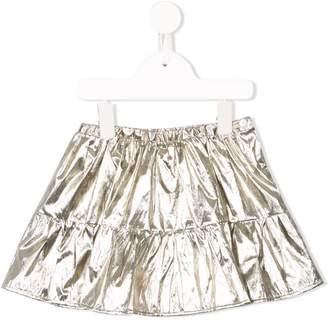 Bonpoint Paloma metallic mini skirt