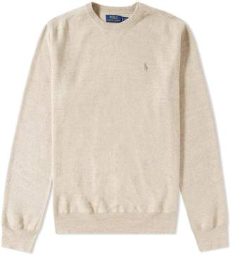 Polo Ralph Lauren Knitted Sports Crew Neck Sweat