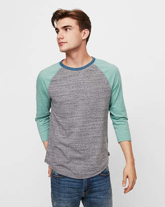 Express Eco-Friendly Crew Neck Baseball Tee