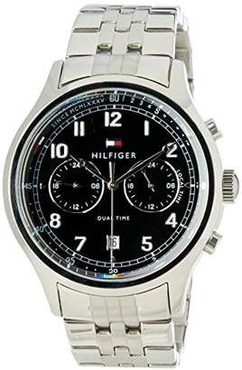 Tommy Hilfiger Mens Analogue Classic Quartz Watch with Leather Strap 1791389