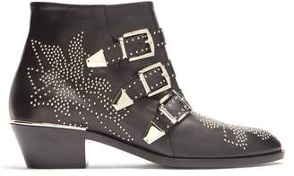 Chloé Susanna leather ankle boots