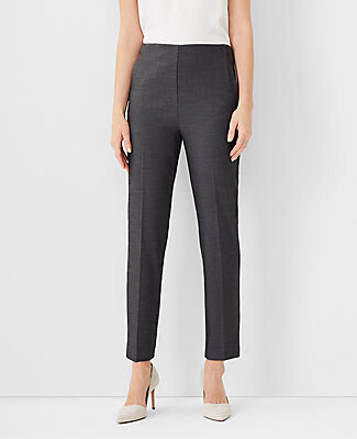 Ann Taylor The Side Zip Ankle Pant in Bi-Stretch