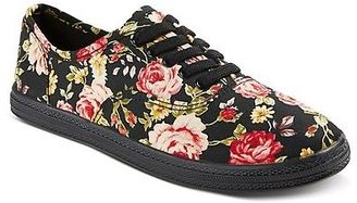 Women's Lunea Floral Pattern Canvas Sneakers - Mossimo Supply Co. $16.99 thestylecure.com