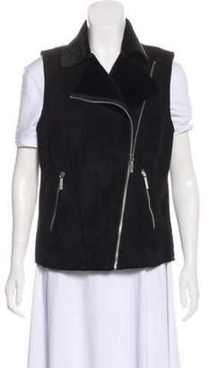 Michael Kors Collared Sleeveless Vest