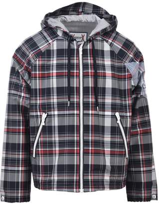 Moncler Gamme Bleu Checkered Nylon Jacket