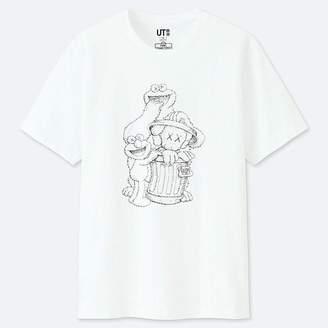 Uniqlo Kaws X Sesame Street Graphic T-Shirt