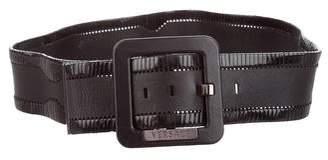 Versace Wide Buckle Belt