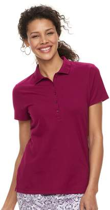Croft & Barrow Women's Classic Polo