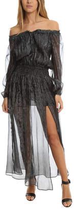 LoveShackFancy Smocked Maxi Dress