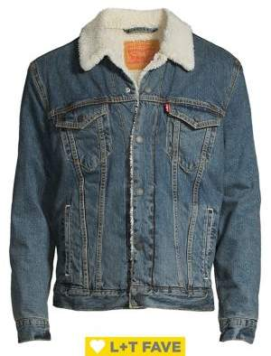 Levi's Faux Fur Collar Denim Jacket